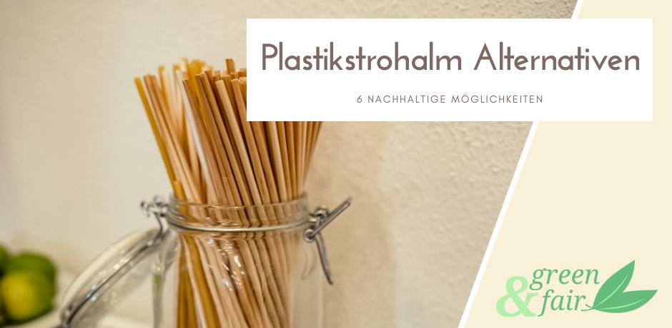 Alternative Plastikstrohhalm - Alternative Plastiktrinkhalm