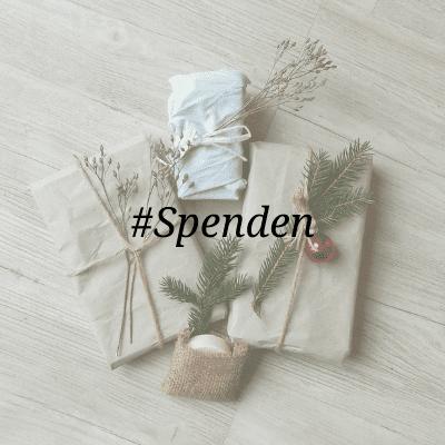 Nachhaltiges Weihnachtsgeschenk Spenden