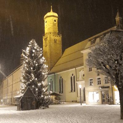 Nachhaltiger Weihnachtsbaum - Öko, Bio oder Naturland zertifiziert - Marienplatz Weilheim