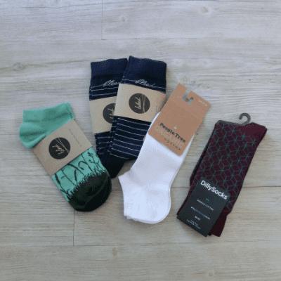 Nachhaltige Weihnachtsgeschenke Fair Trade Socken