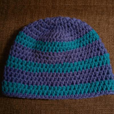 Nachhaltige Weihnachtsgeschenke: Selbst gehäkelte Mütze